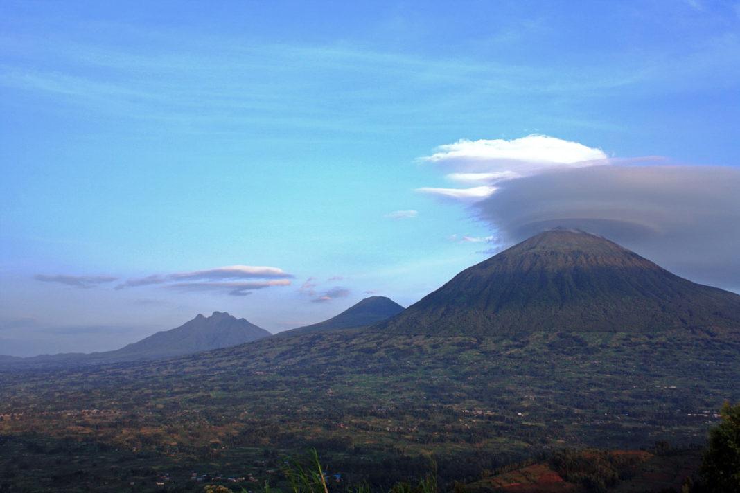 The Volcanoes National Park of Rwanda