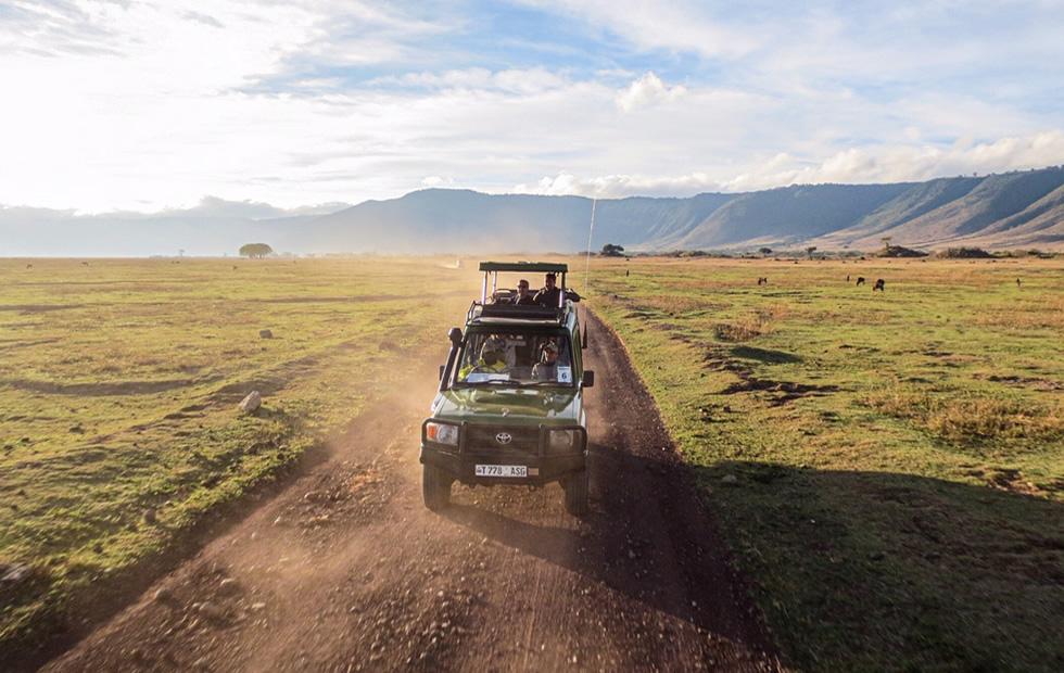 Tanzania Safari Car